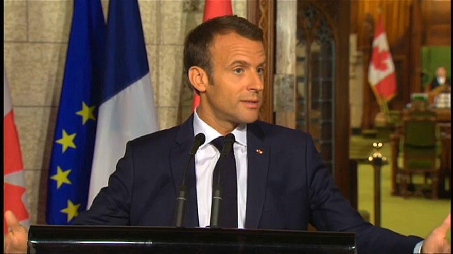 G7, sui dazi è polemica tra Trump e Macron