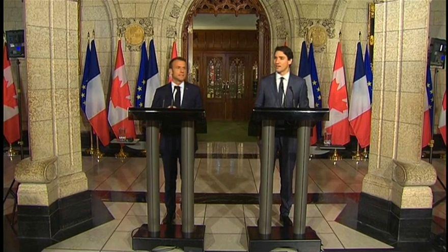 Macron abre G7 a equacionar G6