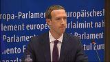 مؤسس فيسبوك مارك زوكربرغ أمام البرلمان الاوروبي