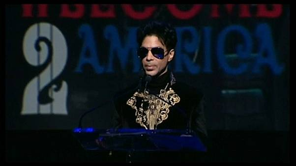 Prince egy koncertjén