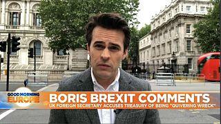 Brexit: Boris Johnsons calls UK treasury 'quivering wreck'