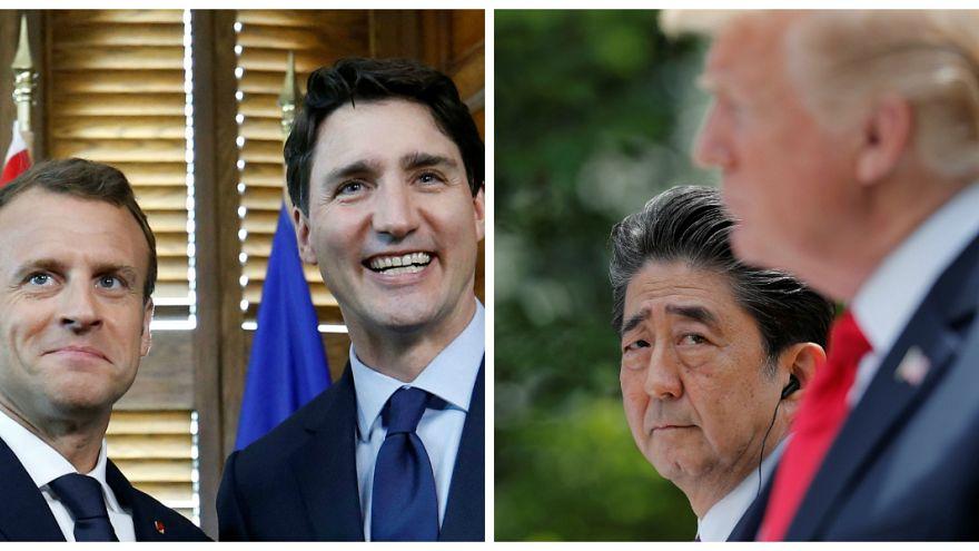 Macron'dan Trump'a G7 öncesi rest