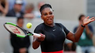 Serena Williams  during her third round match