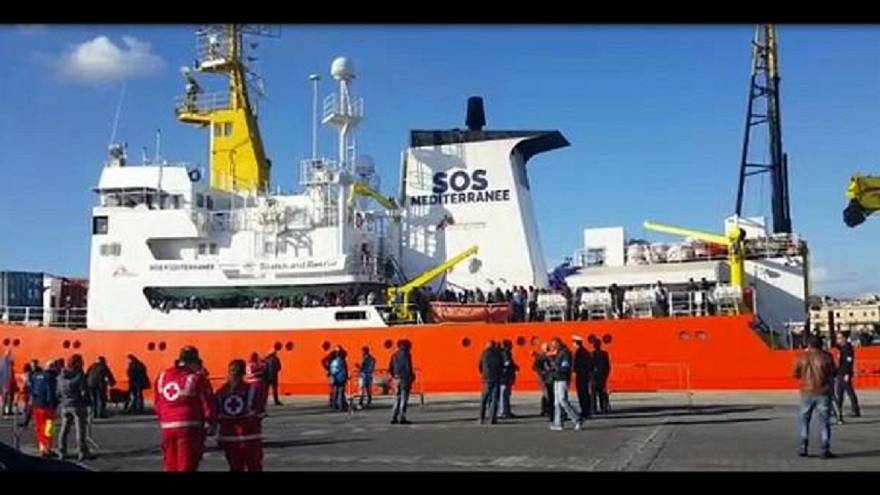 Euronews a bordo di Aquarius