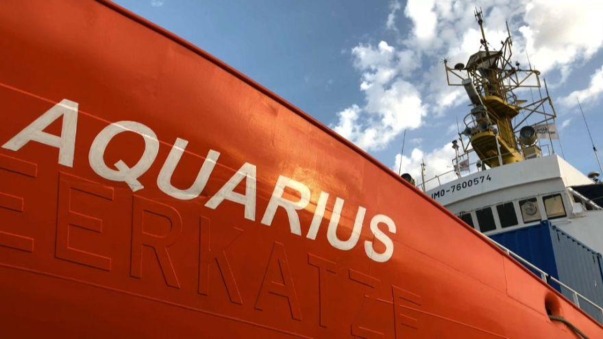 Subimos al Aquarius, el barco que salva vidas en el Mediterráneo