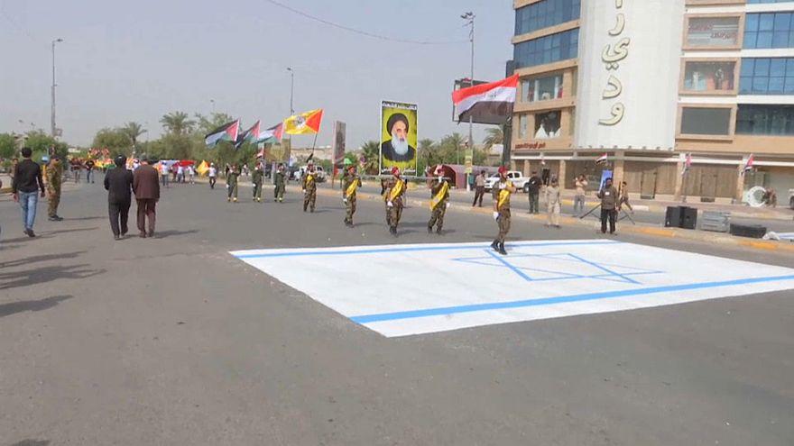 """العراق يحيي """"يوم القدس العالمي"""" بمسيرات حاشدة"""