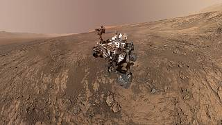 Curiosity, cada vez más cerca de hallar vida en Marte