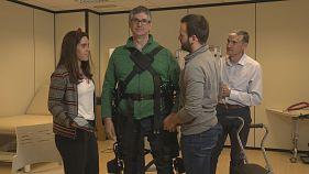 Exoskeletons help patients regain mobility