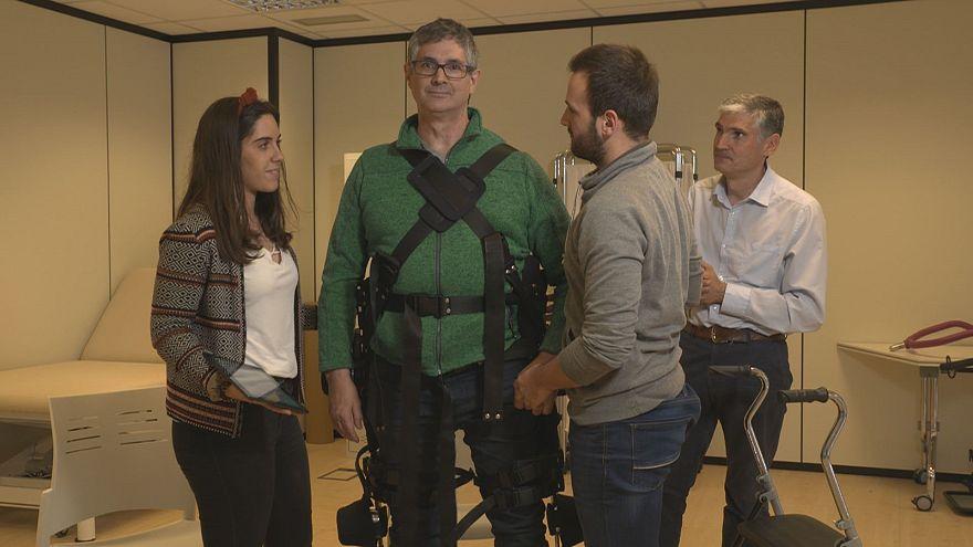 Retrouver sa mobilité grâce à un exosquelette