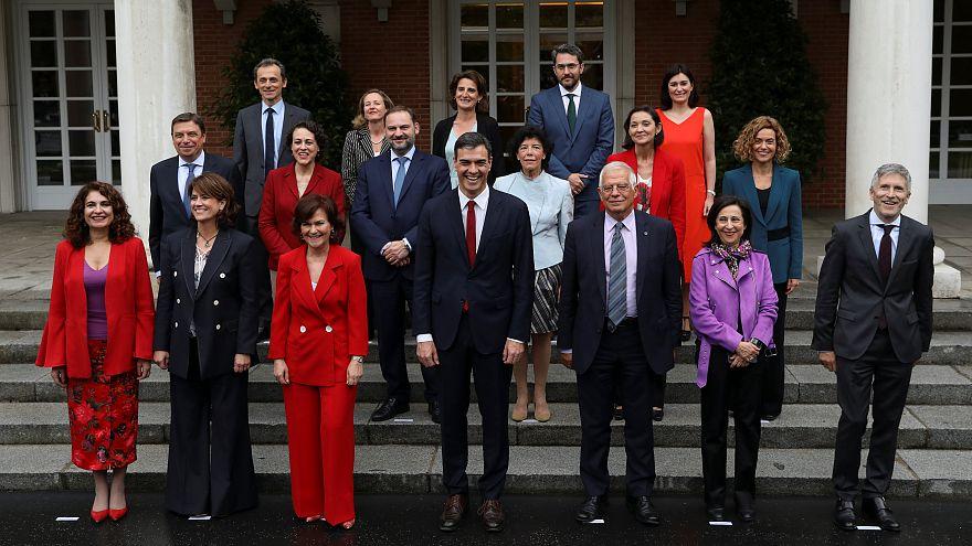 Primera rueda de prensa del Consejo de Ministros de Pedro Sánchez