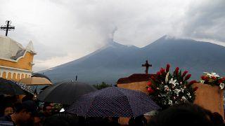 جهود الإنقاذ مستمرة بعد ثوران بركان في غواتيمالا