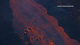 Big island eruption