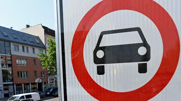 In Aachen könnte bald ein Diesel-Fahrverbot gelten.
