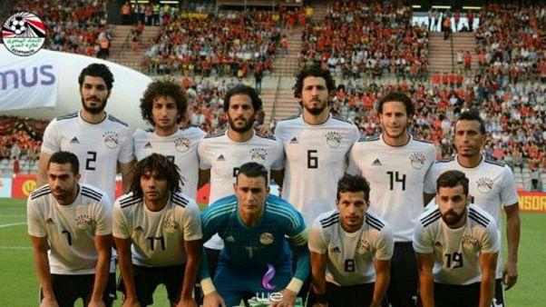 Das Nationalteam von Ägypten