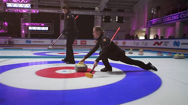 World-class curlers throw and sweep their way through an unforgettable Arctic Cup in Siberia
