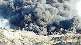 Wie Europas Müll riesige Feuer auf Polens Mülldeponien anfacht
