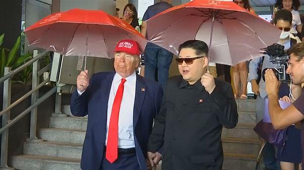 Трамп и Ким встретились