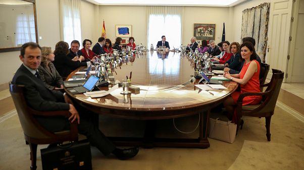 Iσπανία: Πρώτη συνεδρίαση του υπουργικού συμβουλίου