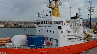 O porto seguro no Mediterrâneo