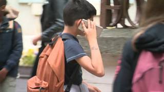 Mobile phone ban in France