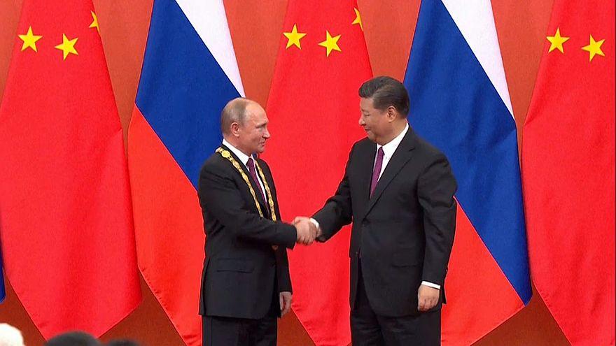 Russlands Präsident Putin zu Gast in Peking
