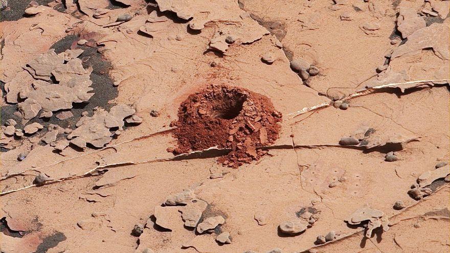 Sein oder Nichtsein: Marsroboter findet organische Moleküle
