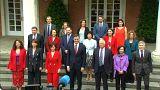Erste Kabinettssitzung mit Geste an Katalonien