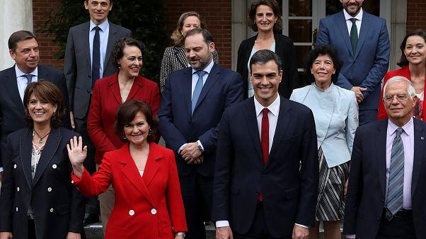 Espagne : premier conseil pour le gouvernement Sanchez