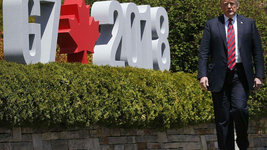 Trump miatt feszült a G7-csúcs