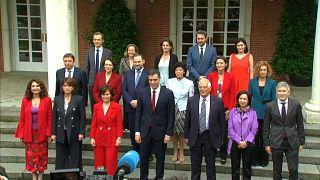 O primeiro Conselho de Ministras... e Ministros do Governo Espanhol