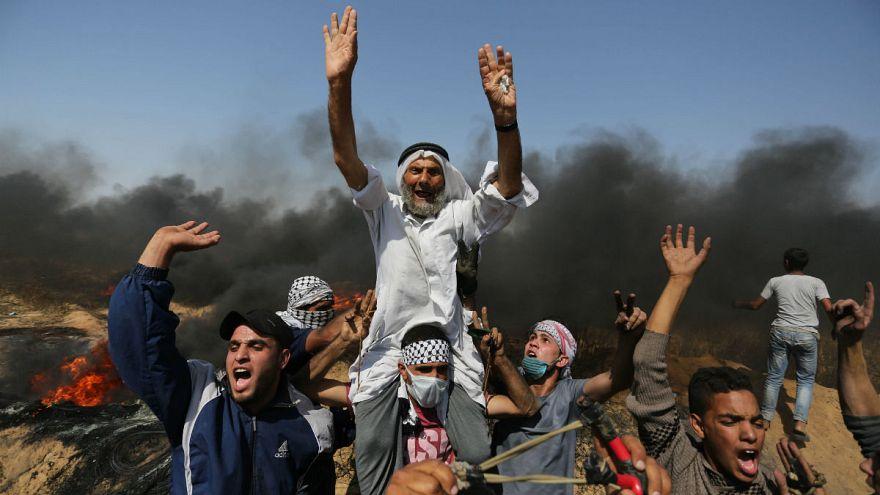 İsrail askerleri Gazze sınırında 4 Filistinliyi öldürdü