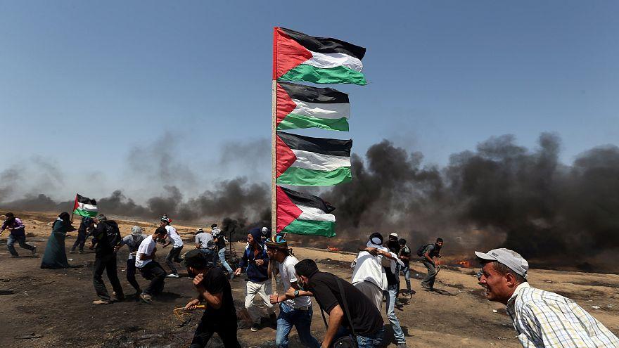 Több száz sérült Gázában Jeruzsálem napján