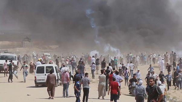 Erneut Palästinenser bei Zusammenstößen an Gaza-Grenze getötet