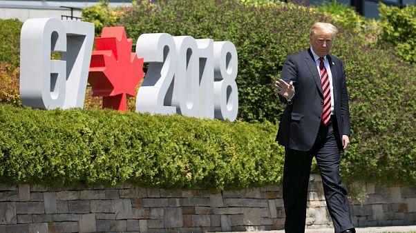 Nur kurz beim G7: Trump wird Gipfel vorzeitig verlassen