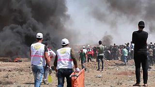Gaza ancora un venerdì di scontri, morti e feriti tra i palestinesi