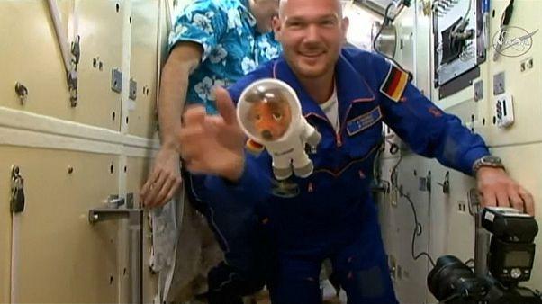 Gerst und die Maus auf ISS eingetroffen