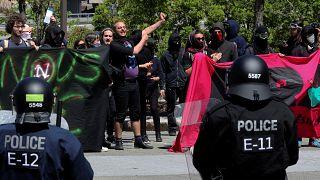 G7 : une manifestation très contenue