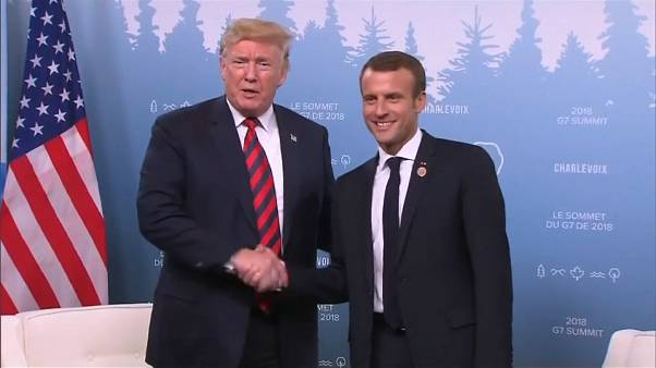 G7 Summit: American-French relations appear to be back on track