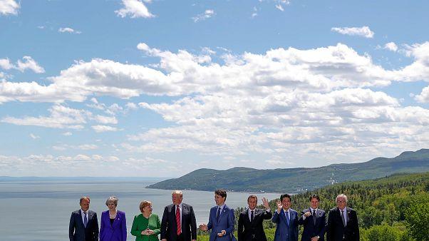 """G7: tra dazi e il """"no"""" europeo al ritorno della Russia"""