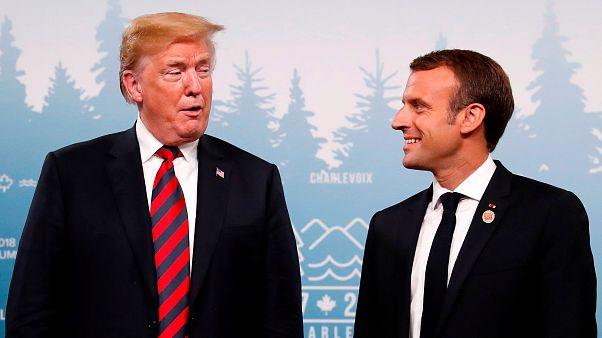 Καναδάς - G7: «Συμφιλίωση» Μακρόν - Τραμπ