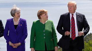Sorrisos escondem tensões na cimeira do G7