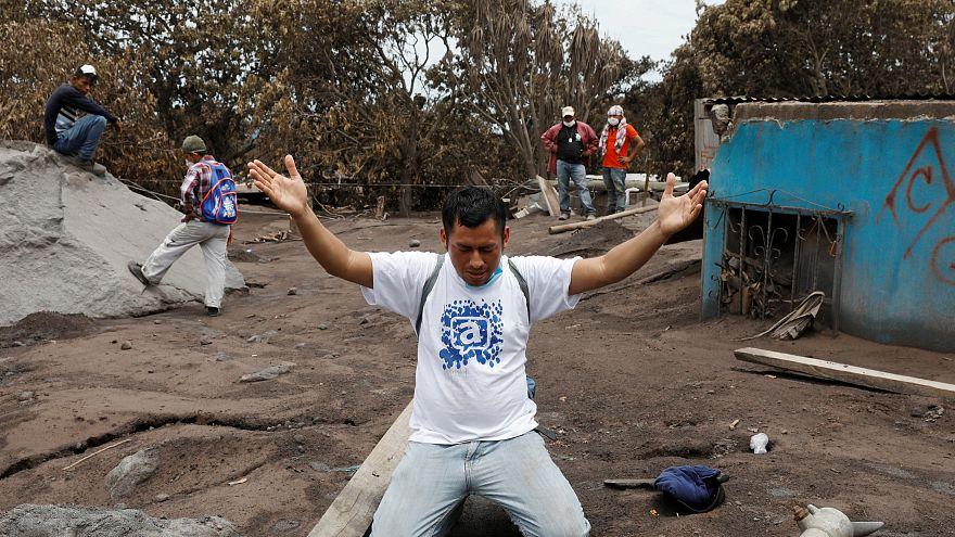 Vulcão de Fogo: desespero entre familiares de desaparecidos