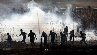 کشته شدن چهار فلسطینی در نوار غزه