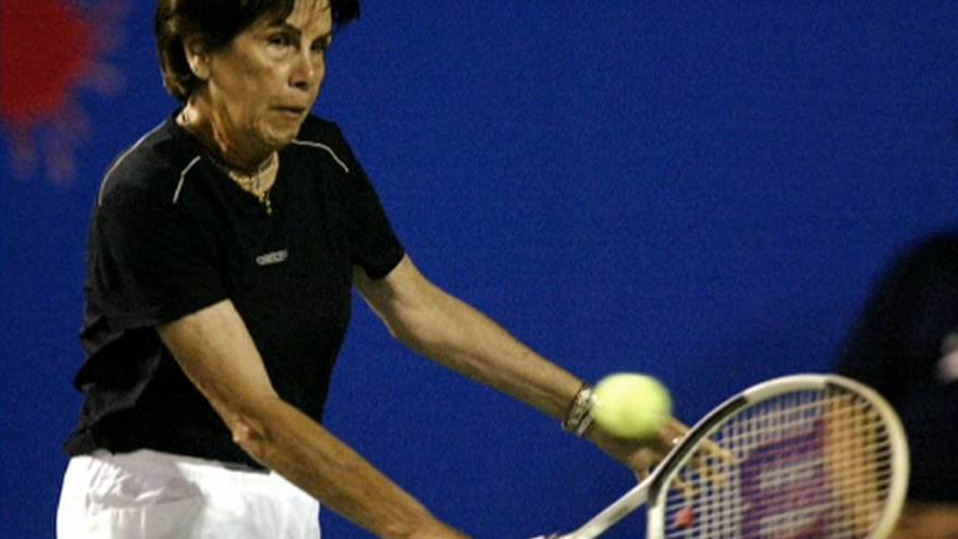 Morreu tenista brasileira Maria Esther Bueno