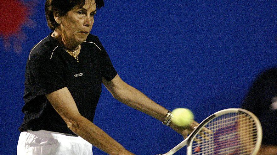 Maria Bueno, légende du tennis, s'en est allée