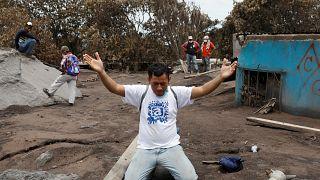 Eruption volcanique au Guatemala : à la recherche des disparus