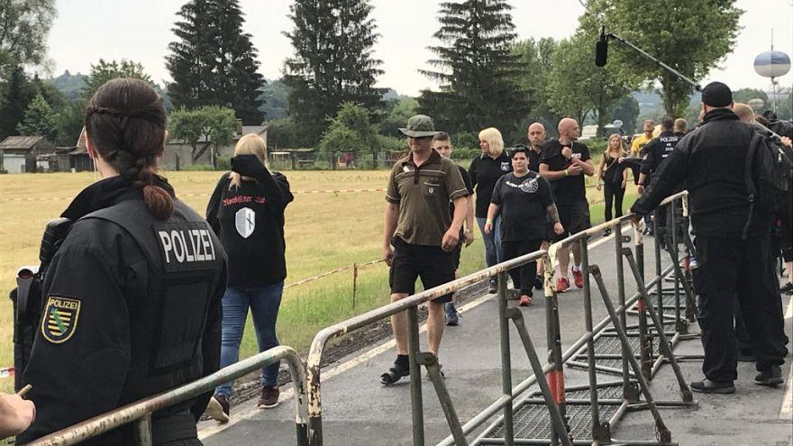 Proteste, Gewalt und verbotene Symbole bei Neonazi-Festival in Thüringen