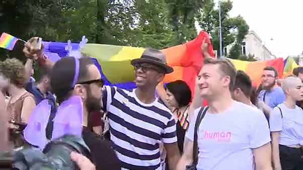 Bucharest Gay Pride celebrates EU residency ruling