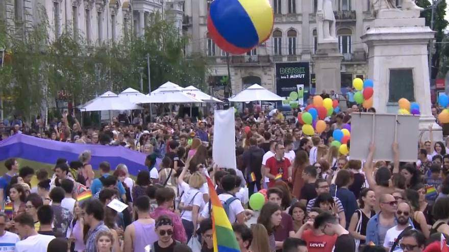 Roumanie : une Gay Pride pas peu fière