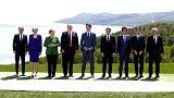 G7 Zirvesi'nin sonuç bildirgesi ticari anlaşmazlıklara son vermedi